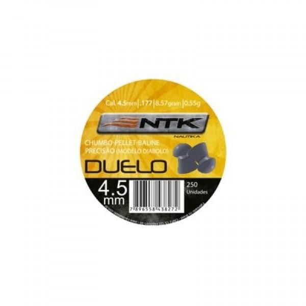 CHUMBINHO DUELO 4.5 C/ 250 PC NTK